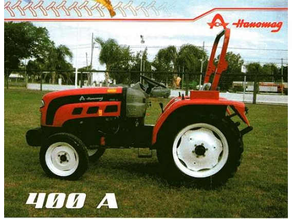 Tractor Hanomag 400 A Arequito