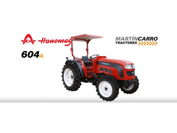 Tractor Hanomag 604A 50 Hp