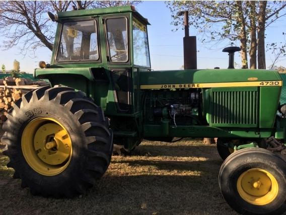 Tractor John Deere 4730 4 Cubiertas Nuevas