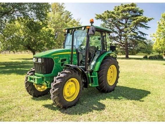 Tractor John Deere 5090E De 90Hp Por Plan De Ahorro