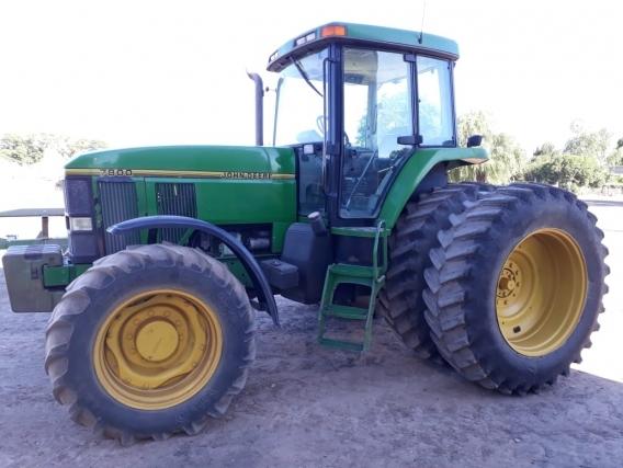 Tractor Johnn Deere 7800 Año 1999 Con 11.000Hs