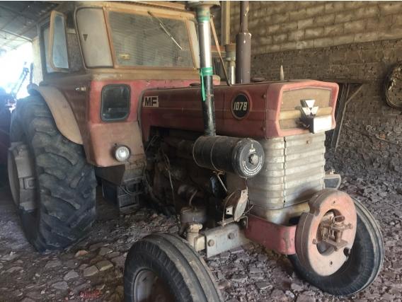 Tractor M Ferguson 1078 Año 1976 Con Cabina Y Viguia