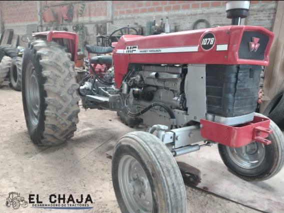 Tractor Massey Ferguson 1078 - Impecable