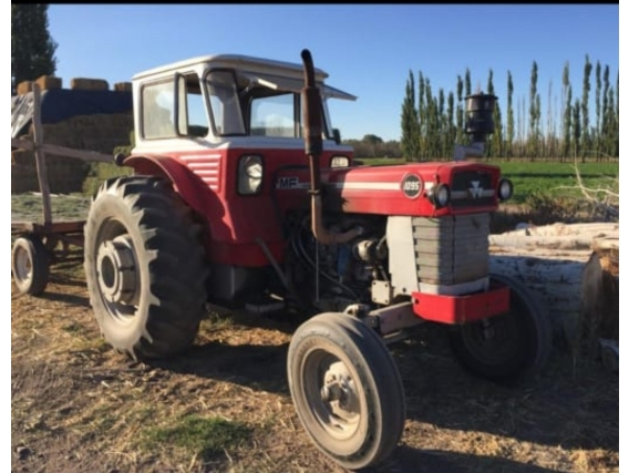 Tractor Massey Ferguson 1095 - Año: 1990