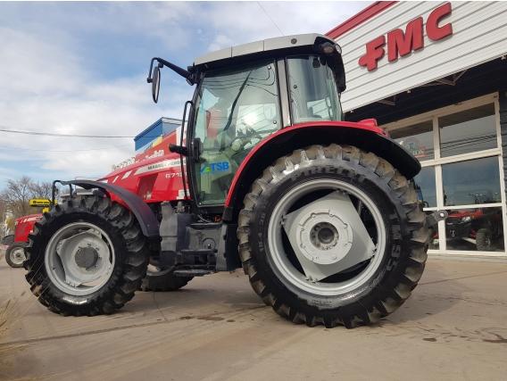 Tractor Massey Ferguson 6712 Dyna