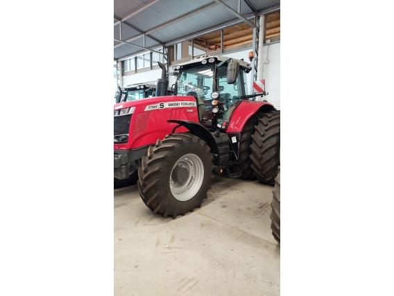 Tractor Massey Ferguson 6712 R - Año: 2021