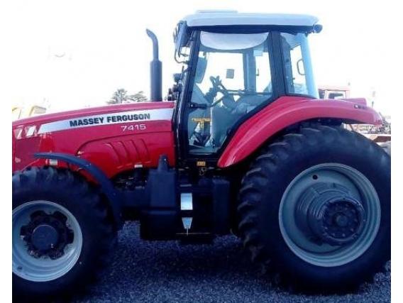Tractor Massey Ferguson 7415 - Año: 2017