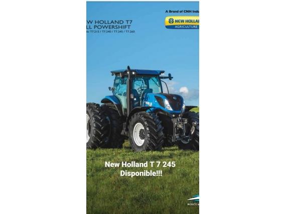 Tractor New Holand T7.245 Con Piloto