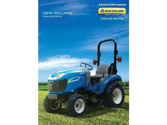 Tractor New Holland Boomer 25 - 27 Cv