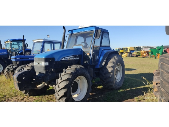 Tractor New Holland Tm 150 D-T,3 Puntos,1000Hs,año 2010