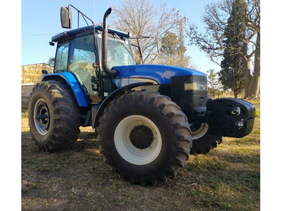 Tractor New Holland Tm135 Año 2007.