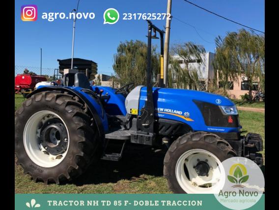 Tractor Usado 85 Hp Doble Tracción New Holland