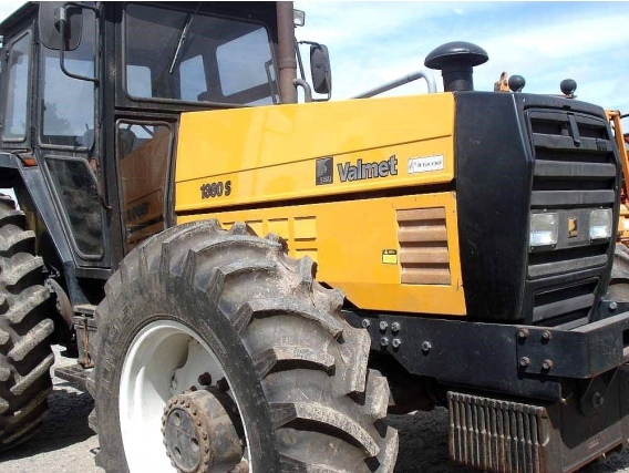 Tractor Valmet 1380S Motor 0 Km