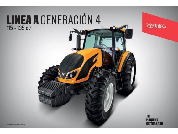 Tractor Valtra A 124