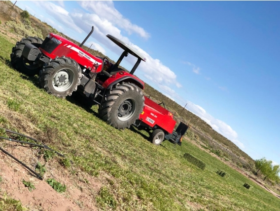 Tractor Massey Ferguson 4297 - Año: 2021