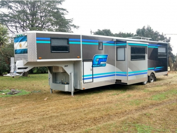 Trailer/casa Rodante 10 Metros.doble Slide. Disponible