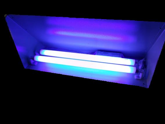Trampa De Luz Atrapa Moscas 2 Tubos. Ecológica