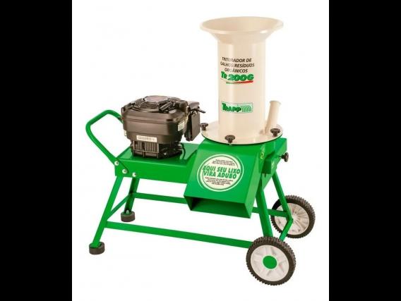 Triturador De Ramas Troncos Y Residuos Orgánicos Tr200G
