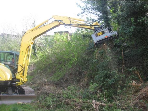 Triturador Forestal Fae Dml/hy - Dml/hy/vt Para Excavadoras