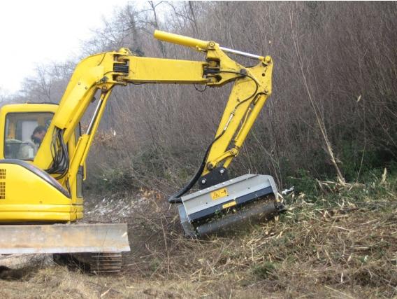 Triturador Forestal Fae Pmm/ex Para Excavadoras