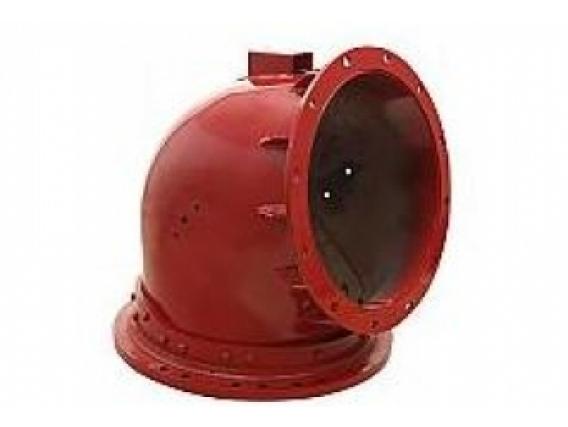 Tubo Codo De Descarga Para Cosech Case Ih 66-88-Extr
