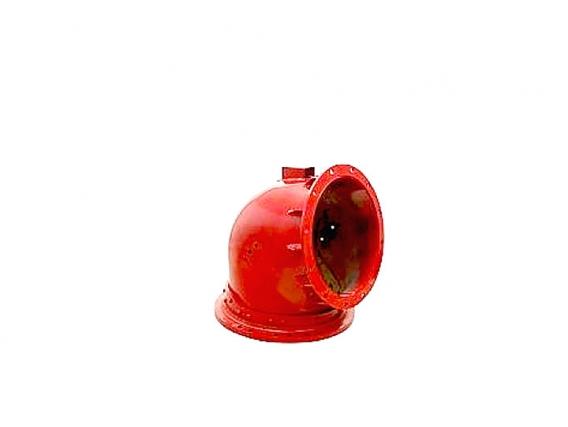 Tubo Codo De Descarga Reforzado Para Cosech Case Ih 99
