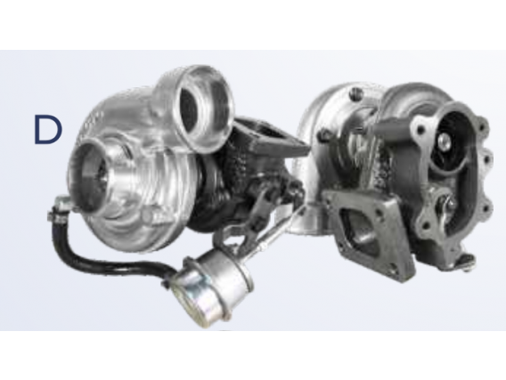 Turboalimentadores Biagio Turbo Bbv T09G