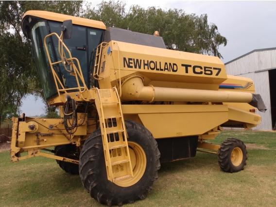 Vendo Cosechadora New Holland Tc 57