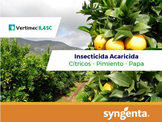 Insecticida - Acaricida Vertimec ® 8.4