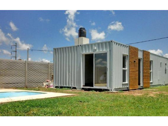 Vivienda En 2 Container Box House 40 Pies En Rafaela