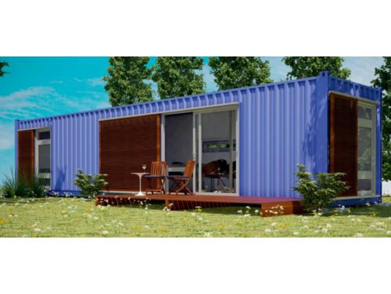 Vivienda En Container Box House 40 Pies En Rafaela