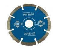 10 Discos Diamantados Bulit Amoladora S400 Segmentados 115mm