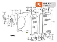 Radiador de aire CLAAS