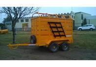 Acoplado Jaula Transporte De Hacienda Comofra