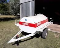 Acoplado Tanque Cisterna Gentilli de 1500 Litros