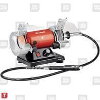 Amoladora de Banco con Minitorno Einhell Electrica TH-XG 75 KIT