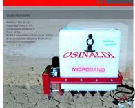 Aplicador de Plagicidas granulados Osinaldi Microband