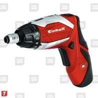 Atornillador Einhell Inalambrica RT-SD 3,6/1 Li 3,6 V. Kit