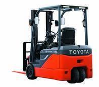 Autoelevador Toyota 48V 3 Ruedas 1.8 Toneladas