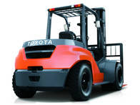 Autoelevador Toyota 8FD80N
