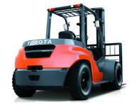 Autoelevador Toyota 8FG80N