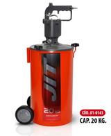 Engrasadora Neumática 20 Kg A Pulso JIT