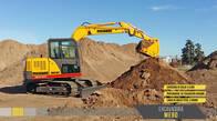 Excavadora a oruga Michigan ME80