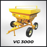 Fertilizadora Rotativa Bidisco Grosspal VG 3000