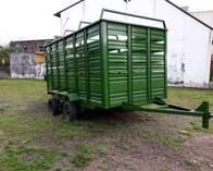 Jaula Vaquera Para Transporte De Hacienda