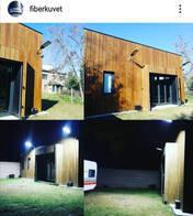 Luminaria Luz Solar Sustentable Fiberkuvet 120W Abs