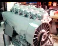 Motor Deutz 160 Turbo de 6 Cilindros