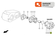 Motor Hidraulico  CLAAS