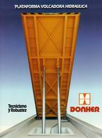 Plataforma volcadora Donher