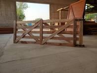 Porton de tablas reforzado Los Nogales de 1,20 m X 3,50 m
